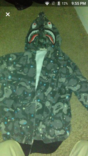 Bape hoodie for sale and it don 't zip up for Sale in Las Vegas, NV