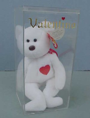RARE 1993 TY Valentino Beanie Baby,Brown Nose, Made In China, P.E. Pellets for Sale in West Warwick, RI