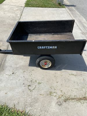Craftsman compact dump trailer 3 by 4 for Sale in Orlando, FL