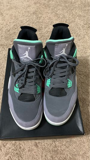 Jordan 4 retro green glow size 12 for Sale in Aspen Hill, MD