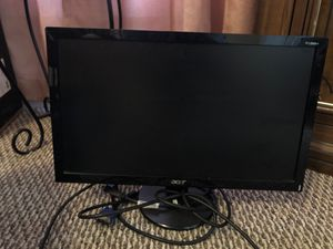 HP home computer Acer moniter $100 comes with keyboard monitor and mouse all included for Sale in Watertown, NY