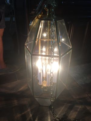 Chandelier light fixture for Sale in Houston, TX