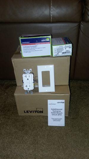 Leviton receptacles for Sale in Buena Vista, VA