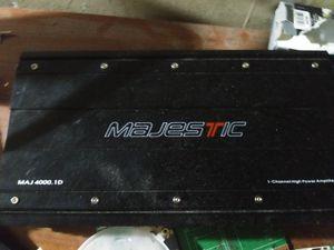 Maj 4000.1d high power amplifier for Sale in Phoenix, AZ