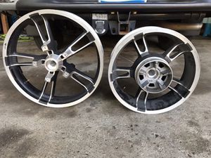 Harley Davidson enforcer wheels for Sale in Livonia, MI