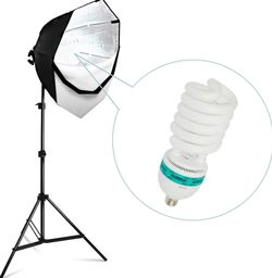 """26"""" Continuous Octagonal Soft Box Lighting Kit Photography Portraits Headshots Studio for Sale in Chino,  CA"""