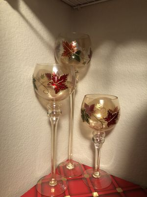 Holiday candle holders for Sale in Salt Lake City, UT