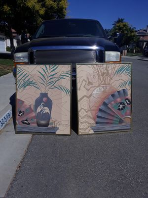Two metal pictures frame for Sale in Winchester, CA