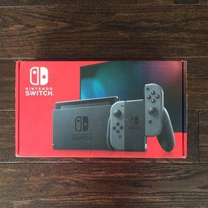 *BRAND NEW* Nintendo Switch V2 32GB - Gray Joystick for Sale in Washington, DC