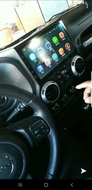 HD Touchscreen Radio Head unit for 2011 through 2016 JEEP Wrangler for Sale in Crosby, TX