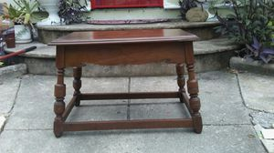 """SMALL ANTIQUE WOODEN TABLE 16.25""""W x 24.25""""L for Sale in Jacksonville, FL"""