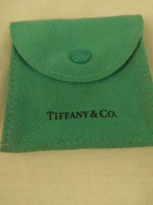 Suede Tiffany & Company jewelry bag for Sale in Salt Lake City, UT