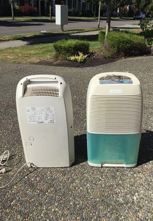 Dehumidifiers (2) for Sale in Olympia, WA