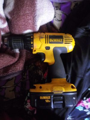 Dewalt 18v drill for Sale in Parkersburg, WV