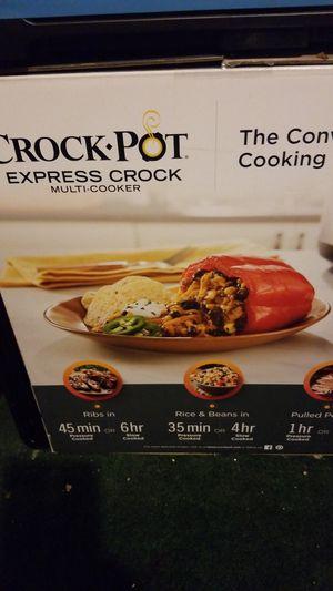 Crock Pot Express Crock Multi Cooker for Sale in South Gate, CA