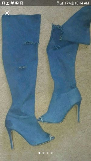 Thigh high boots and heels for Sale in NW PRT RCHY, FL