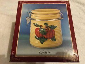 Cracker Barrel Apple Cookie Jar for Sale in Sterling, VA