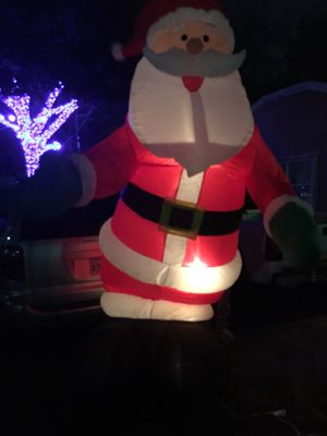Santa inflable 12 ft for Sale in Houston, TX