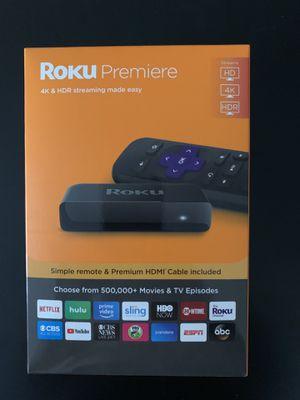 Roku Premiere 4K & HDR for Sale in Olney, MD