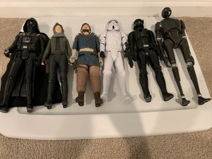 "STAR WARS - all six 12"" figurines as a set for $30 for Sale in Weldon Spring, MO"