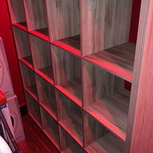 IKEA Kallax Storage Cub Shelf Grey 16 for Sale in Costa Mesa, CA