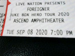Foreigner tickets for Sale in Murfreesboro, TN