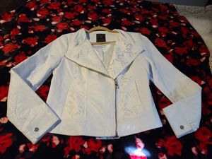 Woman Guess leather jacket for Sale in E RNCHO DMNGZ, CA