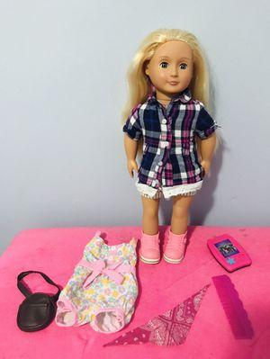 OG doll with beautiful silkie hair for Sale in Woodbridge, VA