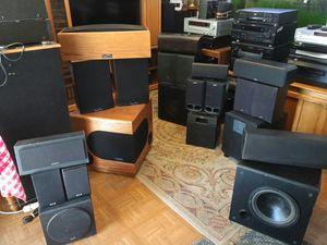 Infinity, Sony, Advent, KLM, Boston Acoustic, & Video Acoustics for Sale in Glendale, AZ