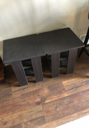 Two end tables for Sale in Lexington, VA