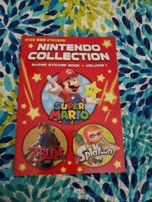 Nintendo Collection sticker book for Sale in Yuma, AZ