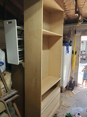 Closet or book shelf shelving units, 14 drawer dresser dresser for Sale in Plant City, FL