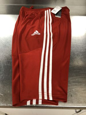 NEW ADIDAS RITO19 RED 3/4 PANTS/SHORTS SIZE-MEDIUM MENS for Sale in Columbia, MD