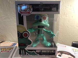 Funko Pop Kingdom Hearts Goofy Monster's Inc. for Sale in Amarillo, TX