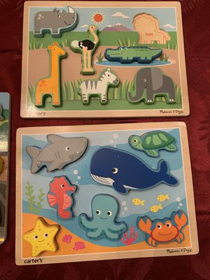 Melissa & Doug Puzzles for Sale in Winchester, VA