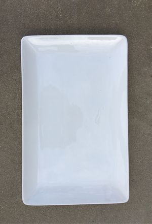 "Large porcelain platter 15""x9.5"" new for Sale in Fresno, CA"