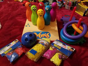 TAKE ALL!KIDS games and water balloons for Sale in Mount Prospect, IL