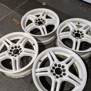 17 White 17x7 Four Used Rims for Sale in Chillicothe, IL