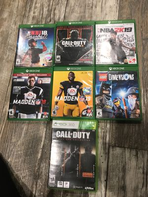 Xbox one games and Xbox 360 games for Sale in Imperial, MO