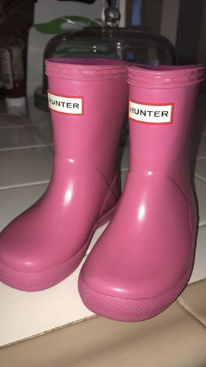 Hunter rain boots for Sale in Phelan, CA