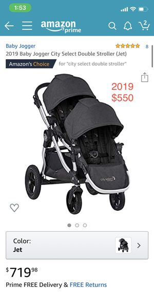 New 2019 City Select Double Stroller for Sale in El Cajon, CA