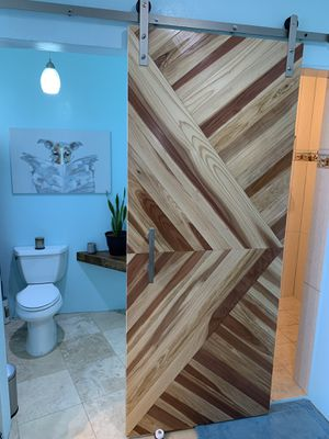 Custom made wood barn doors for Sale in San Marcos, CA
