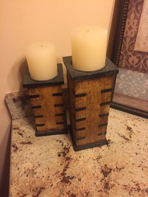 Candle with stand for Sale in Auburn Hills, MI