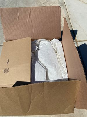 Box of tarps for Sale in Fontana, CA