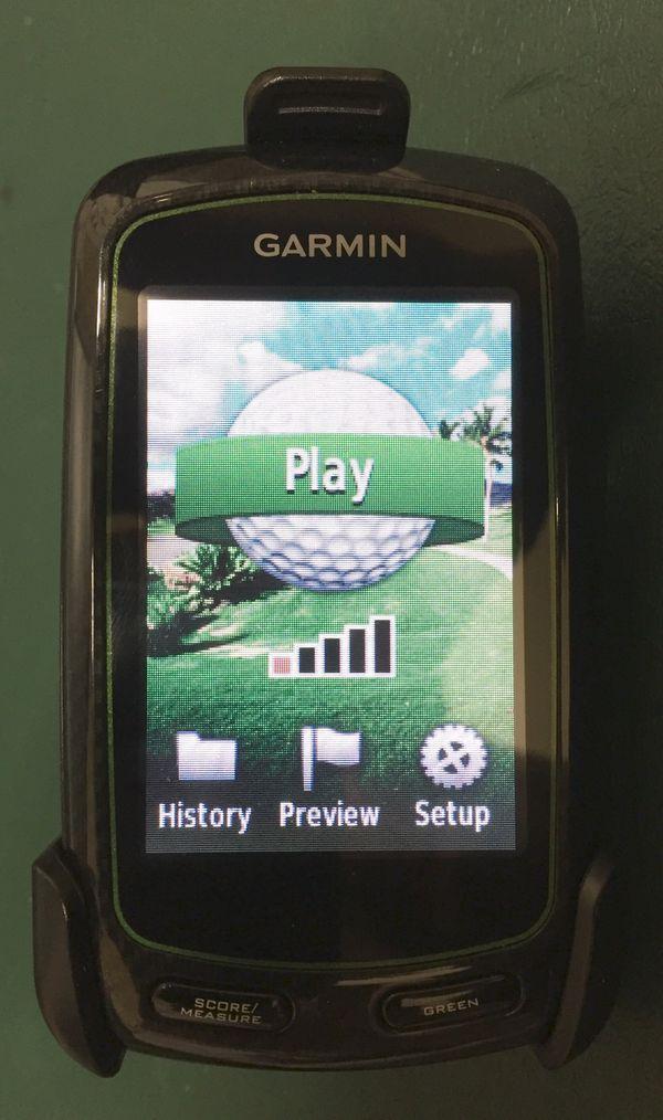 Garmin Approach G6 Touchscreen Golf GPS
