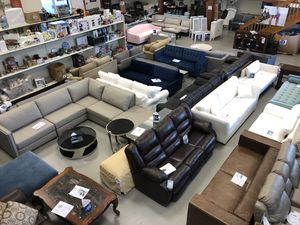 Sectionals, Sofas, Dressers, Nighstands, Dining Furniture, Bed Frames & More! 40-80% off retail for Sale in Hampton Falls, NH