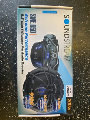 "SoundStream 6.5"" High Efficiency Pro Audio Speaker for Sale in Commerce, CA"
