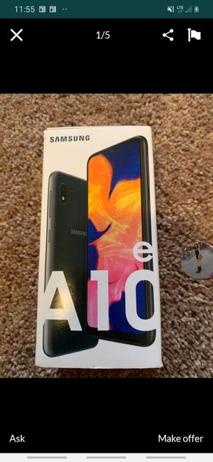 Samsung Galaxy A10. Flawless condition. Unlocked to any carrier at all. Just pop a SIM card in from anywhere and use. Asking 150$ OBO for Sale in Lakewood, CO