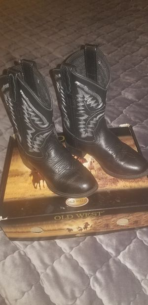 Girls old west boots size 11d for Sale in Humble, TX
