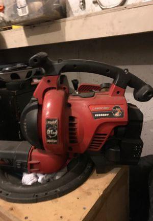 Blower vacuum Troy built needs gas lines but runs fine maybe 25 hours on it for Sale in Belton, MO